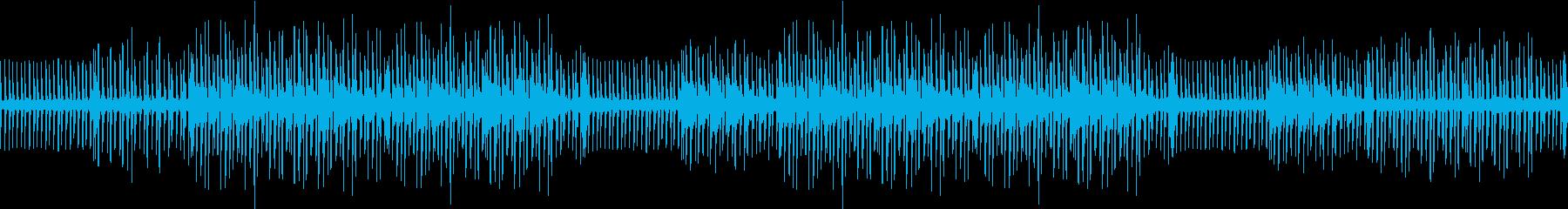 テクノポップ・未来的・綺麗・ループ・夜の再生済みの波形