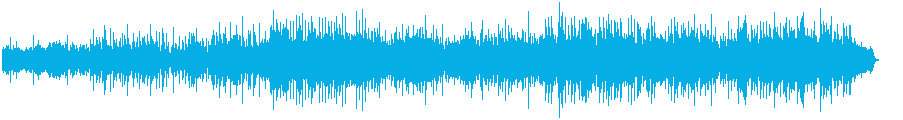 キャンドルサービスに最適なバラードの再生済みの波形