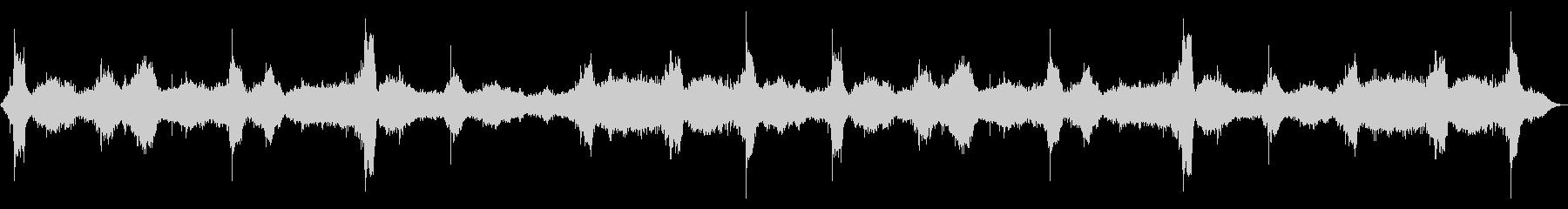 [生録音]海、波の音02(Lo-fi版)の未再生の波形