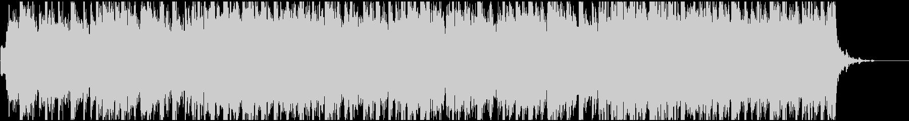さわやかな汎用性の高い35秒の楽曲の未再生の波形