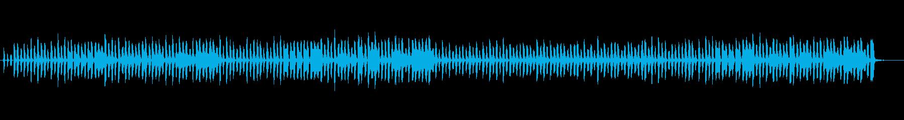 ほのぼのリコーダーピアノ聖者の行進の再生済みの波形