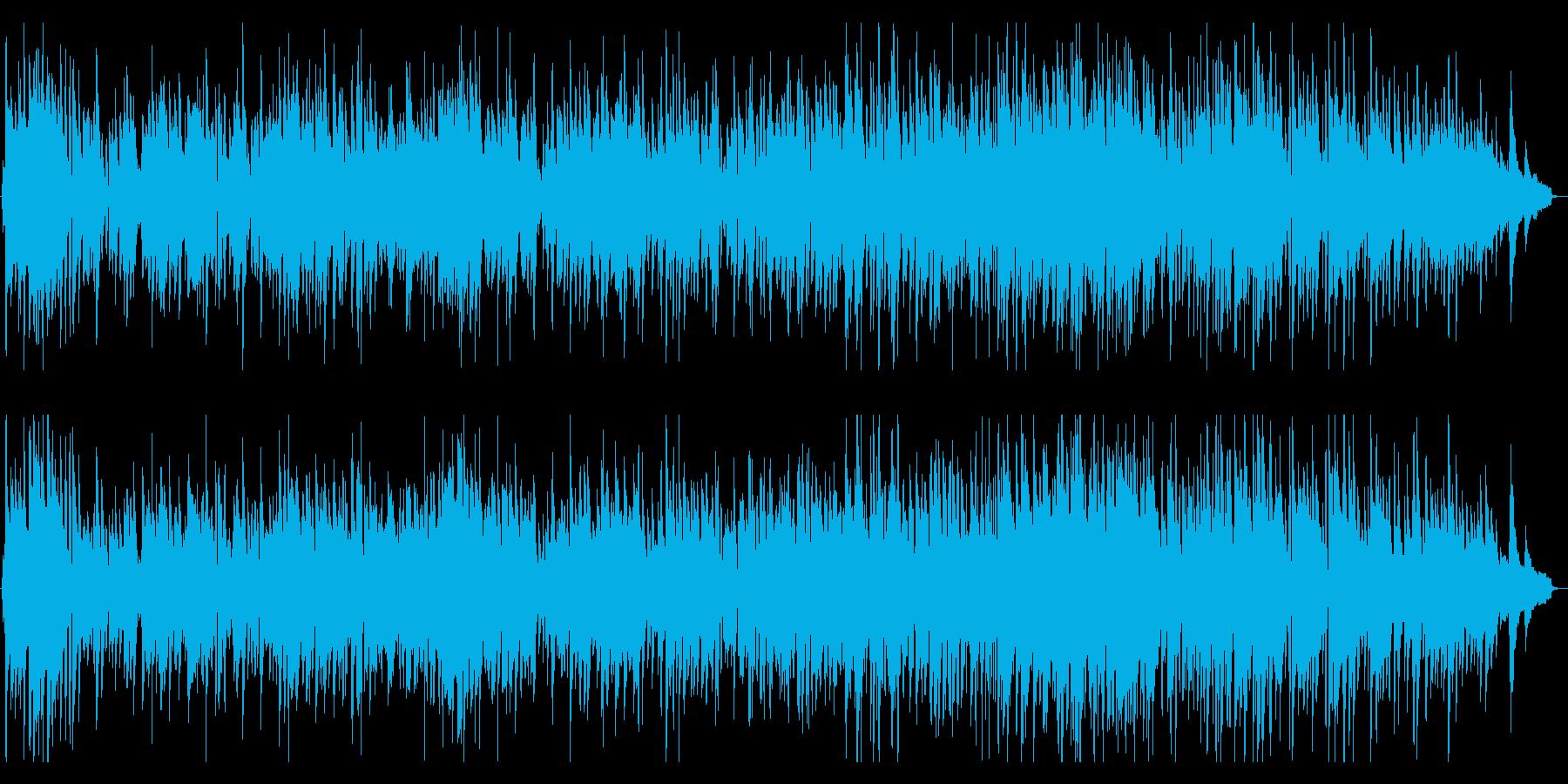 ゆったりと落ち着く三拍子ジャズピアノの再生済みの波形