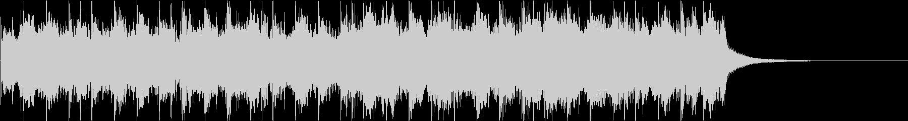 クラシック_01にリズムを入れていますの未再生の波形