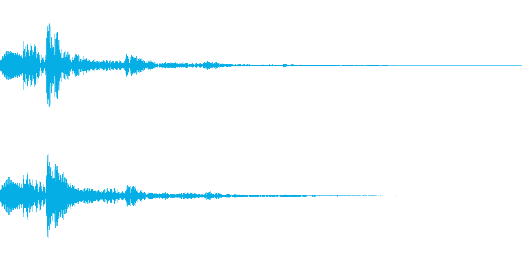 選択・決定音・シンセの再生済みの波形