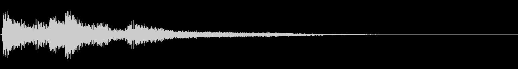 ピアノジングル02_cの未再生の波形