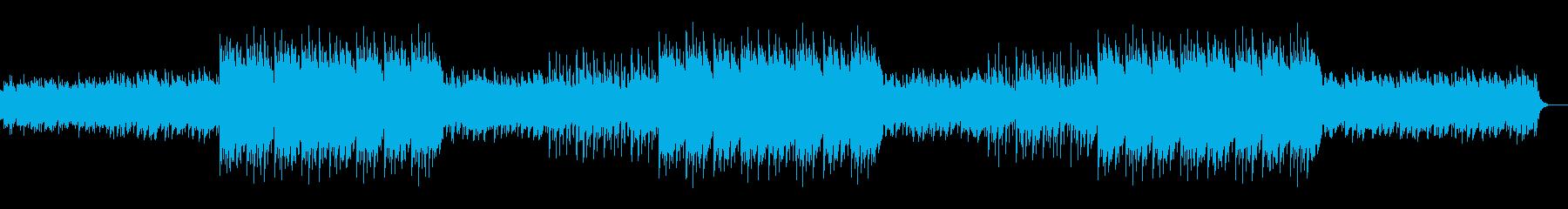 幻想的なエモラップ系ヒップホップBGMの再生済みの波形
