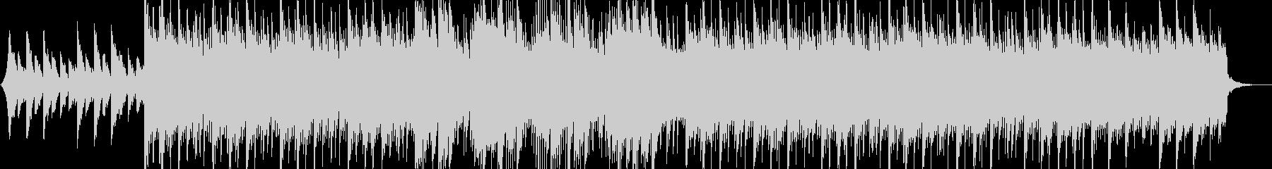 情緒溢れるピアノのヒップホップの未再生の波形