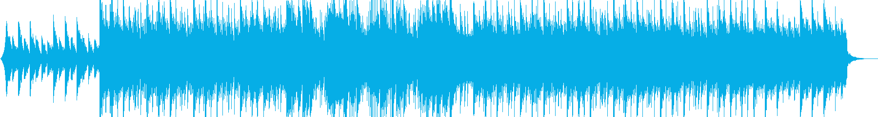 情緒溢れるピアノのヒップホップの再生済みの波形