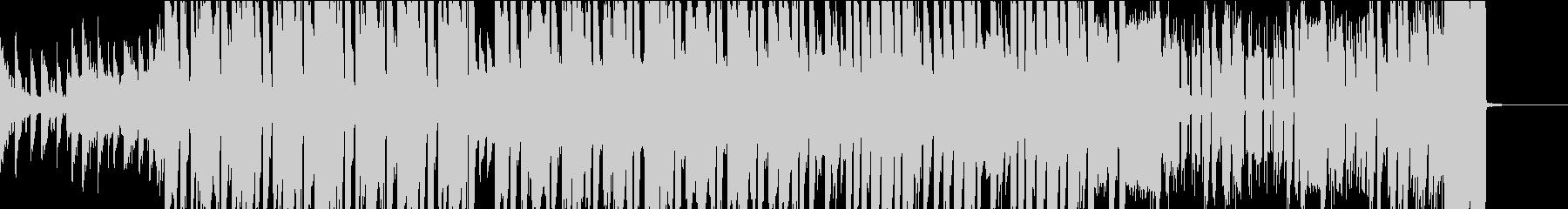 爽やかなイメージのEDMの未再生の波形