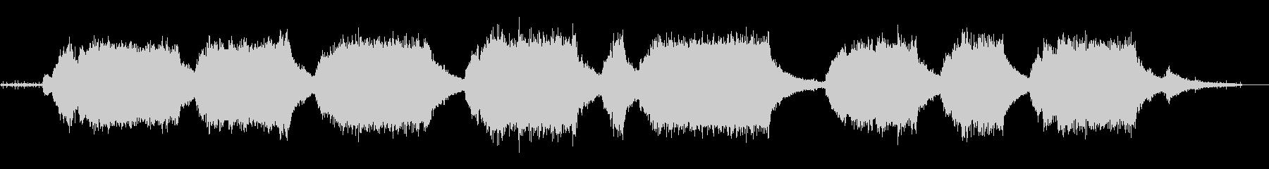 チェーンソー-回転(長い回転)とオフの未再生の波形