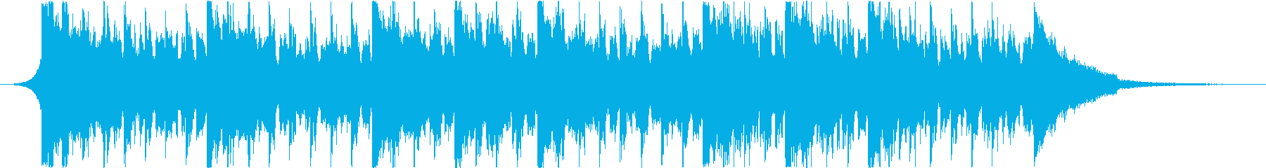 コーポレートテックミニマルポップの再生済みの波形