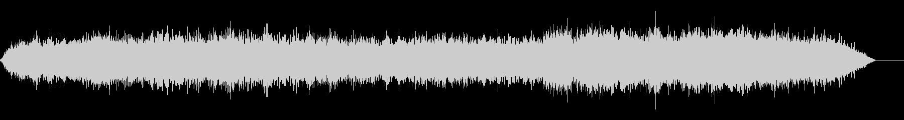 地下鉄、電車の音(車内にて録音)の未再生の波形