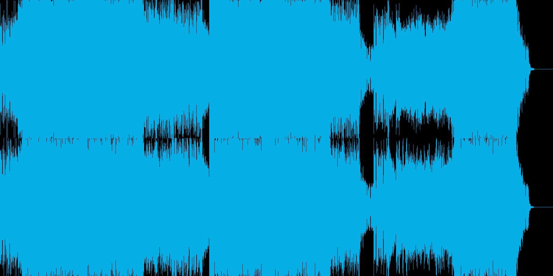 ロック_デジタル_重厚の再生済みの波形