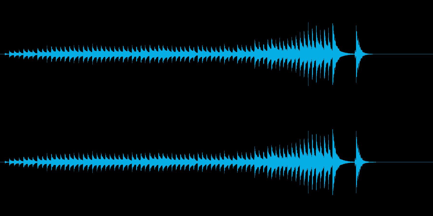 大太鼓17水音歌舞伎情景描写和風和太鼓江の再生済みの波形