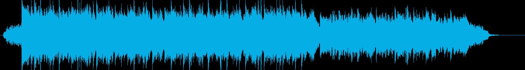 Calm Orchestra 1の再生済みの波形