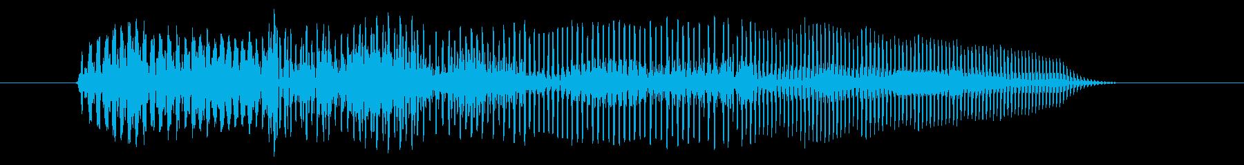 空腹03-2の再生済みの波形