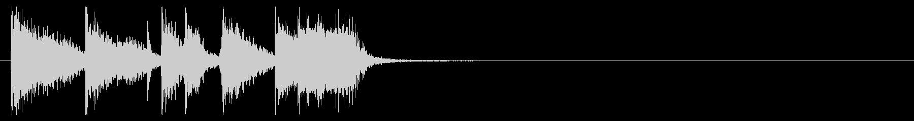 ジングル@ソウル&ファンキー#3 の未再生の波形
