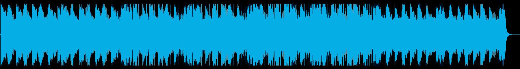 涼しげなHiphop_No383_3の再生済みの波形