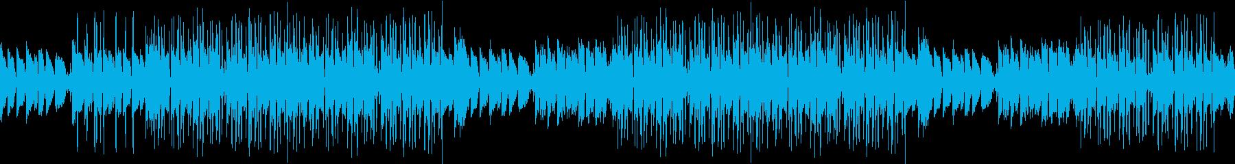 ループギター・お洒落・爽やか・サンセットの再生済みの波形