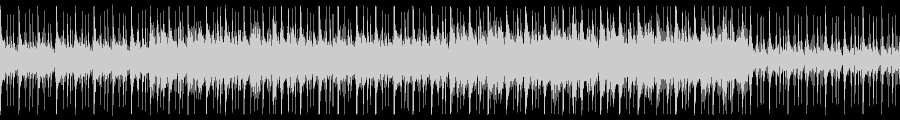 和×JAZZのゆったりループBGMの未再生の波形
