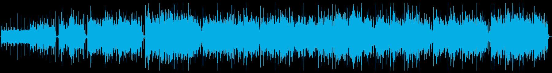のんびり、さわやかなブラシドラム、...の再生済みの波形