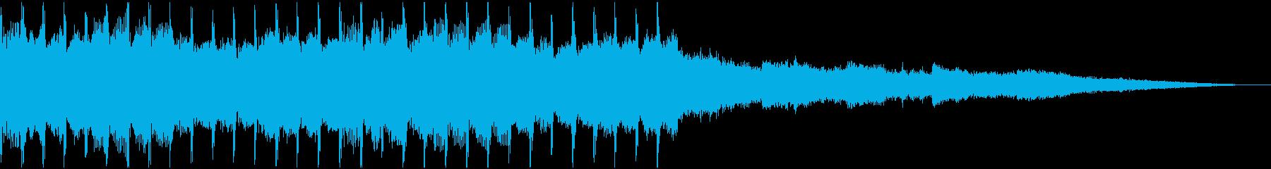 おしゃれで高揚感のあるハウス30秒verの再生済みの波形