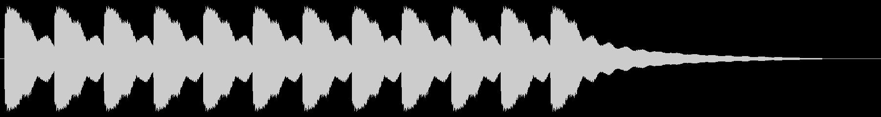教会の鐘5、中、F#3;シングルミ...の未再生の波形