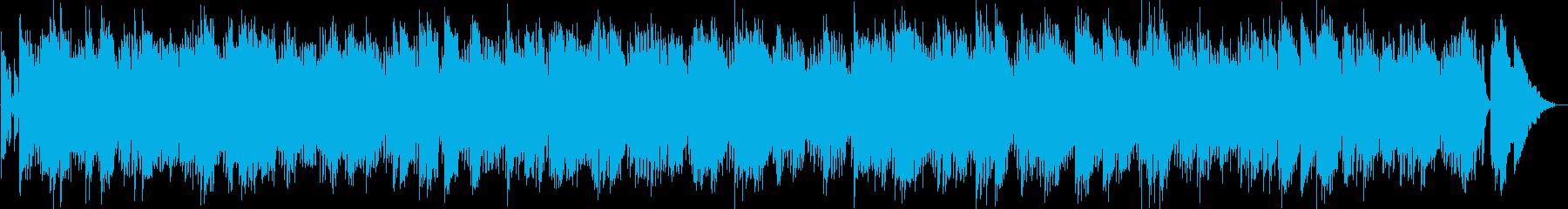 ムード満点のリラクゼーションミュージックの再生済みの波形