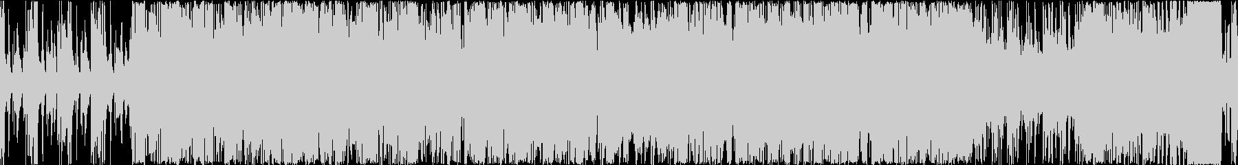 『ループ』雑談配信BGM明るいエレクトロの未再生の波形