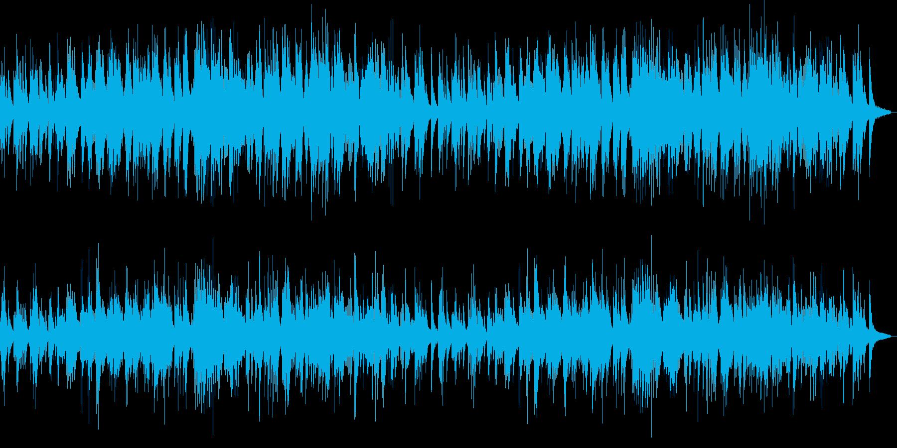 優しい 心温まる ピアノ曲の再生済みの波形