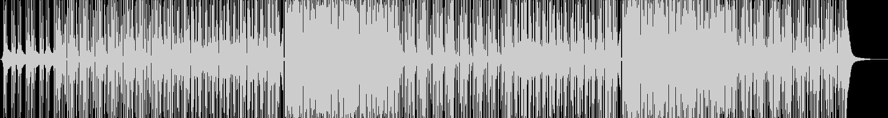 EDM=ナチュラル・爽やか★ポップハウスの未再生の波形