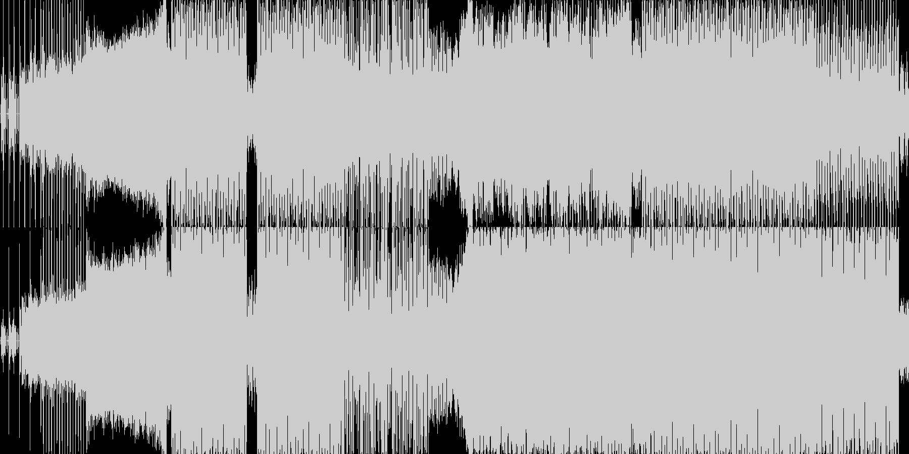 シャッフルの四打です。ほんの少しだけ和…の未再生の波形