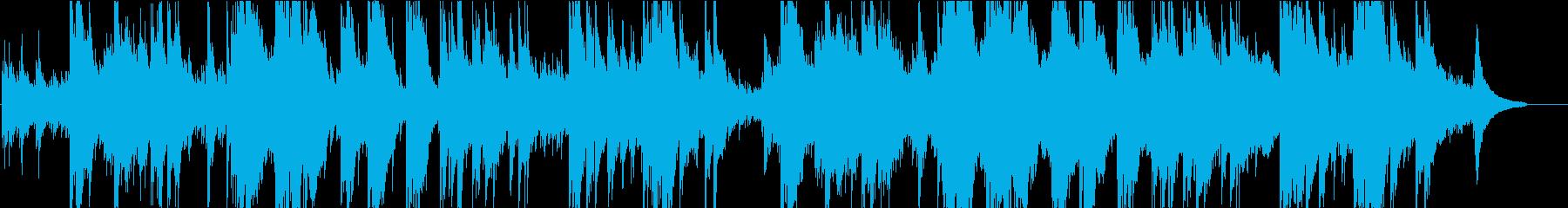 アコースティックギターソロBGMの再生済みの波形