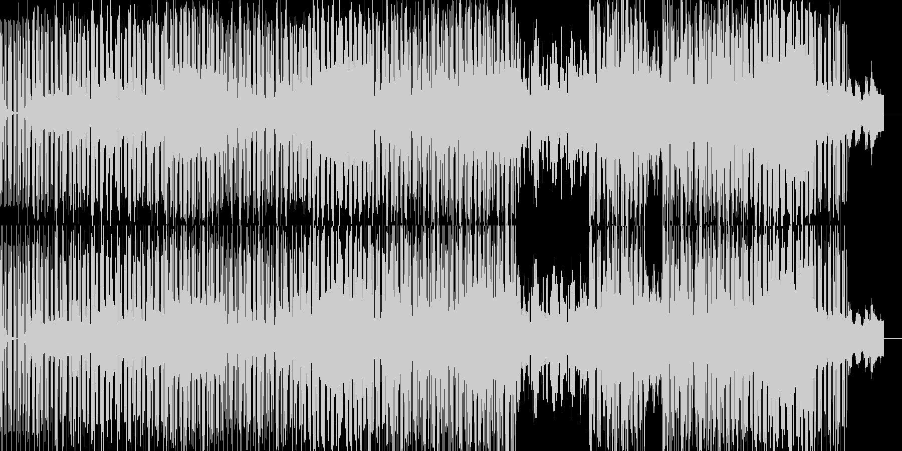 pianoメインなbreakbeatsの未再生の波形