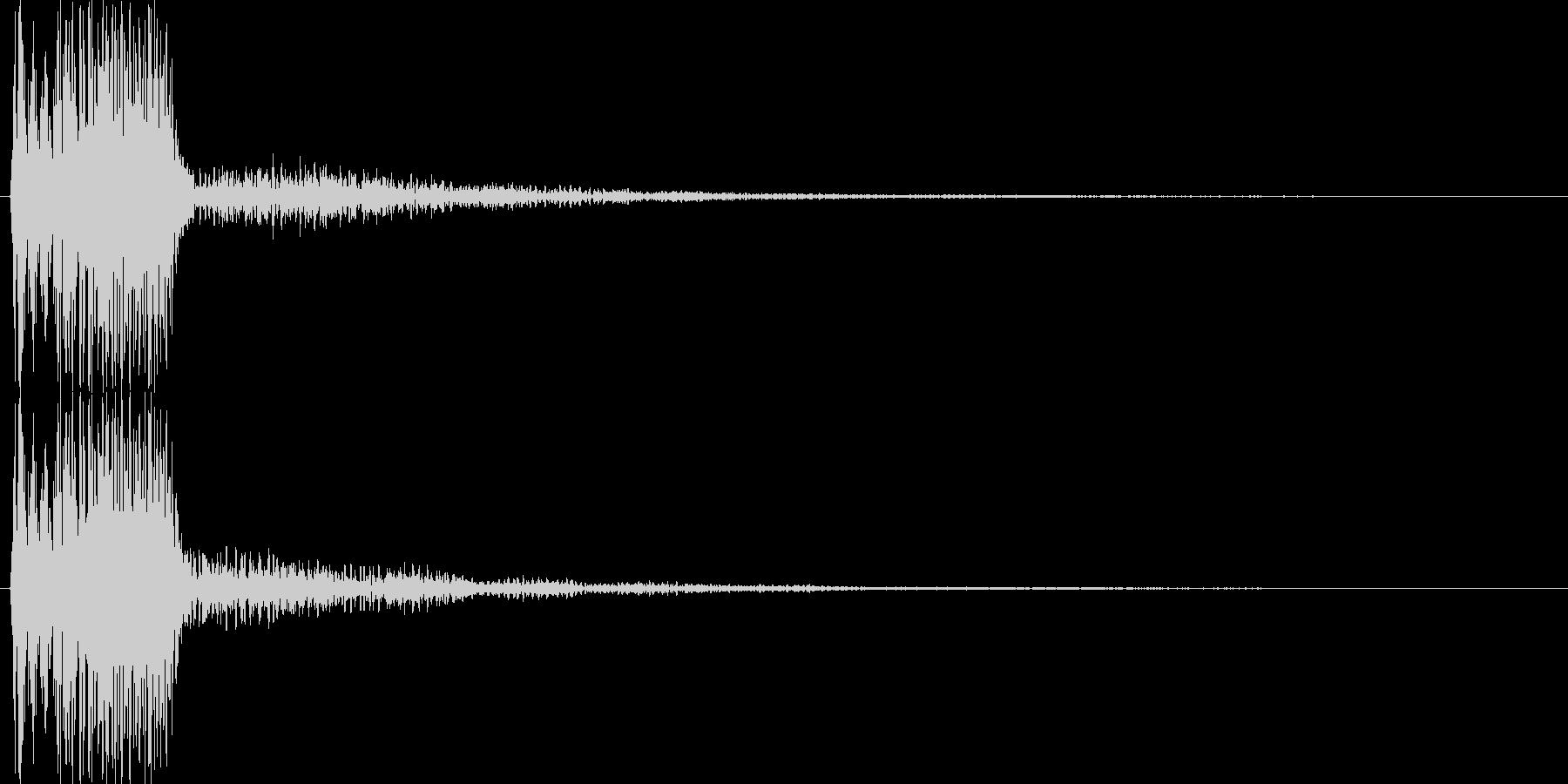 ピコ(ゲーム、アプリなどの操作音02)の未再生の波形