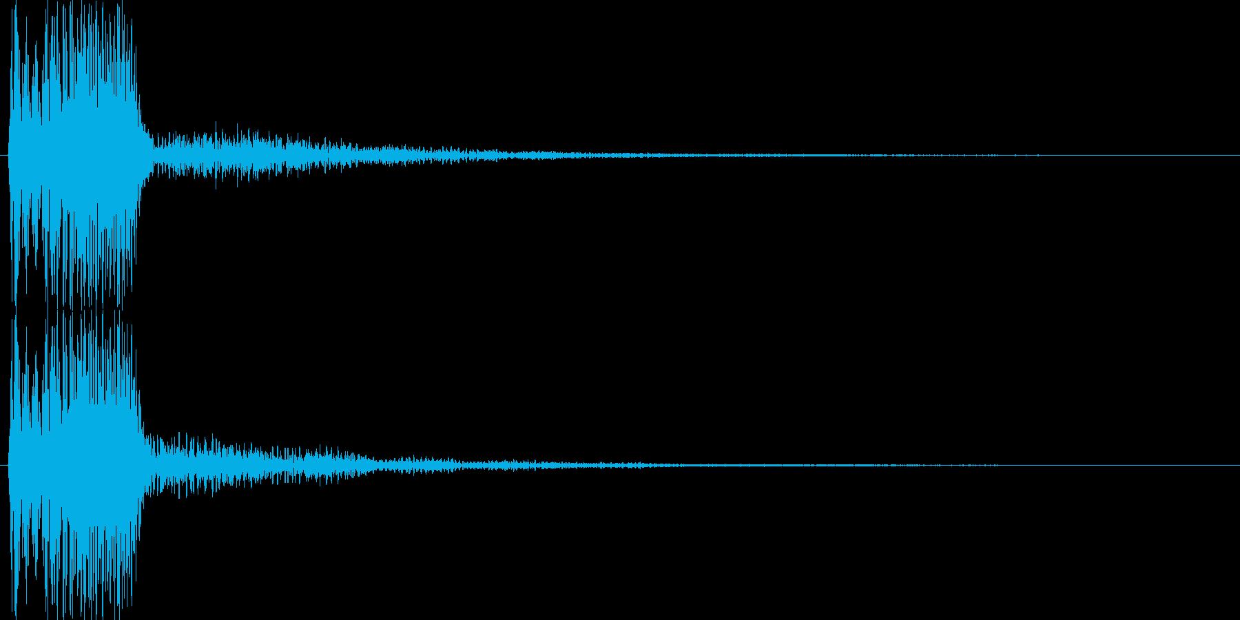 ピコ(ゲーム、アプリなどの操作音02)の再生済みの波形