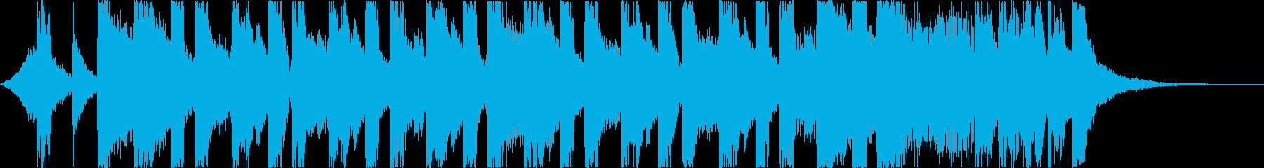 おしゃれ洋楽トラップヒップホップレゲエdの再生済みの波形