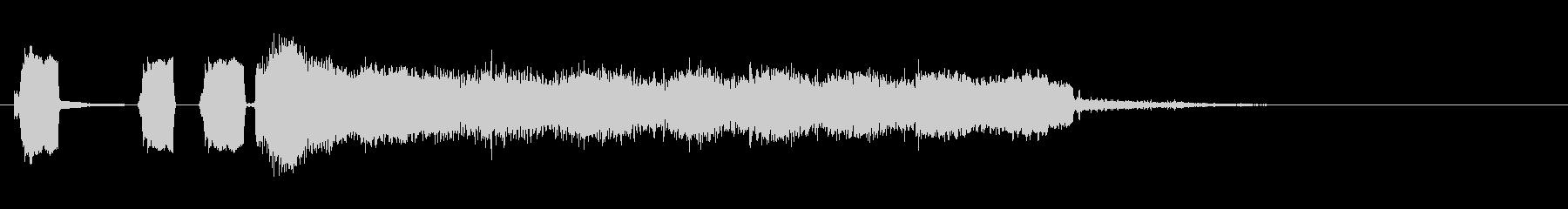 KANT褒め用ファンファーレ200608の未再生の波形