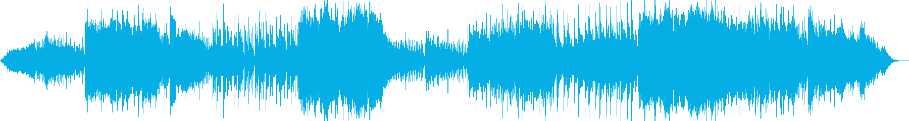エスニック風インストの再生済みの波形