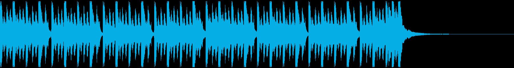 ドライブ(ショート)の再生済みの波形