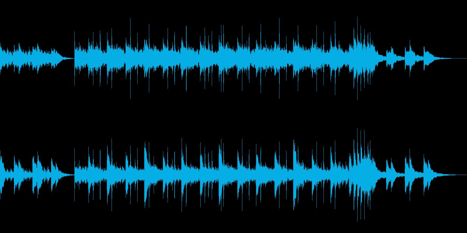 のびやかなピアノが主体のアンビエントの再生済みの波形