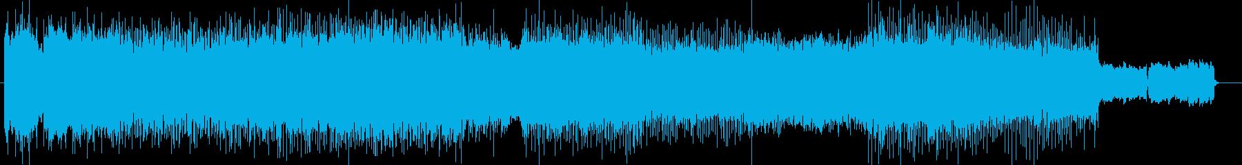 「HR/HM」「DARK」BGM44の再生済みの波形
