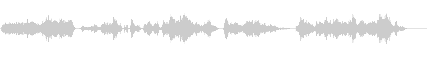 ゴースト、ホーンティングの未再生の波形