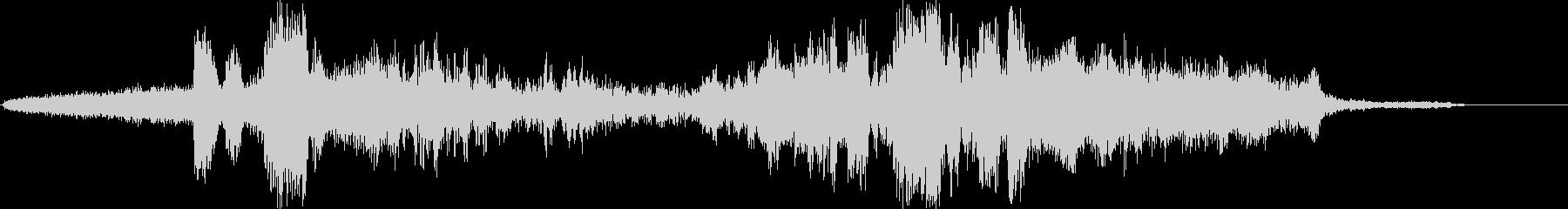 静的変化、小さなモーフ、データシフ...の未再生の波形