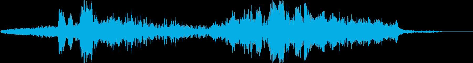 静的変化、小さなモーフ、データシフ...の再生済みの波形