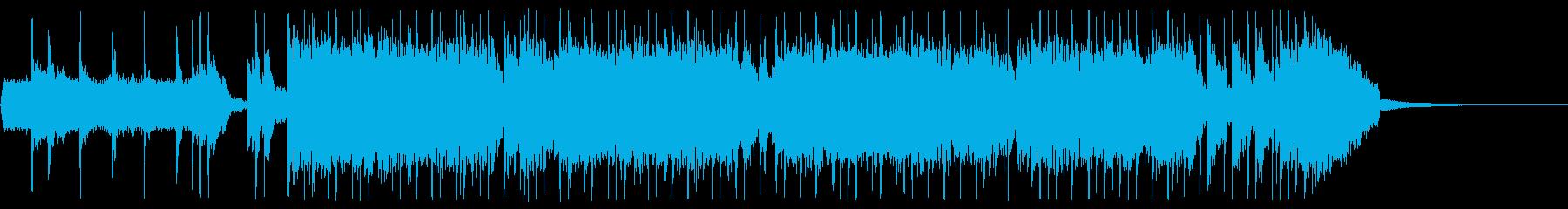 エレキ生演奏疾走ロック OP CM等にの再生済みの波形