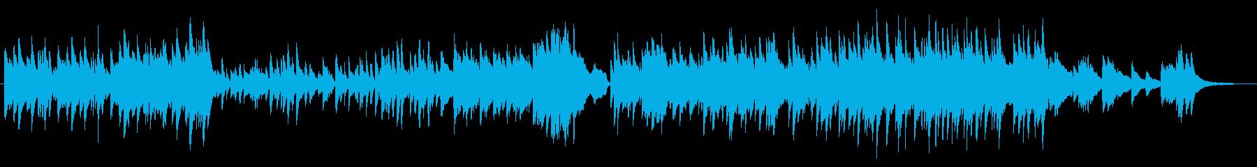 エモーショナルで幻想的なピアノソロの再生済みの波形