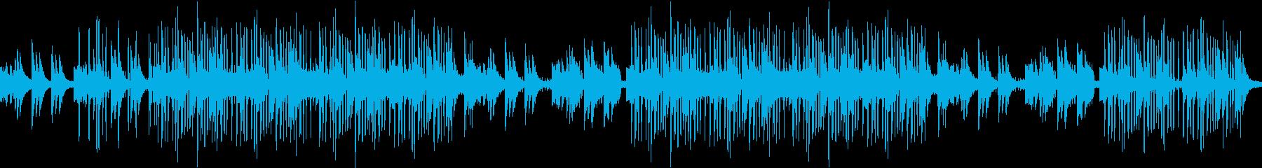 哀愁・エンディング・ピアノ・ループの再生済みの波形