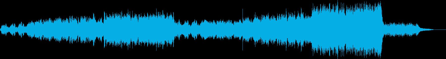 切なく感動的ぐっとくる大編成オーケストラの再生済みの波形