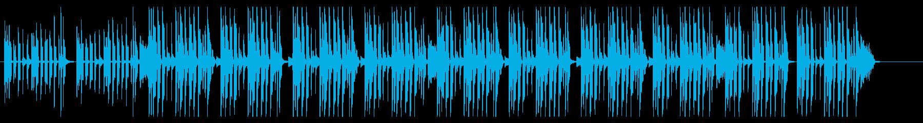ほのぼの、のんびり、日常、リコーダーの再生済みの波形